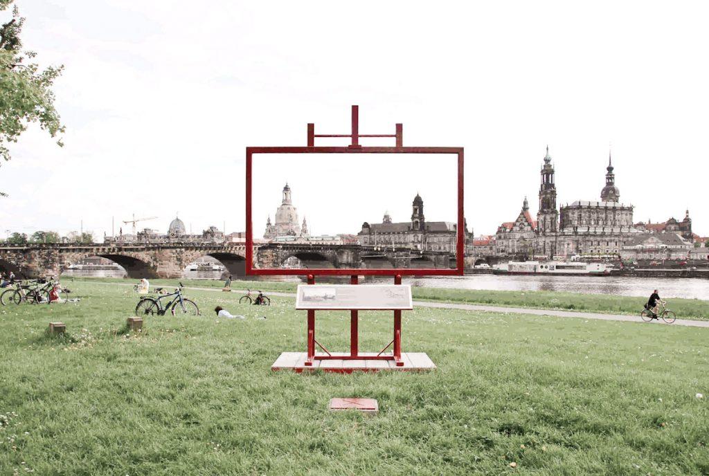 Canaletto Blicke auf Dresden