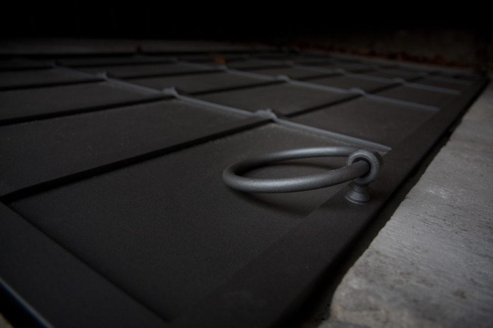 Rekonstruktion einer Gruftplatte - Detail 1